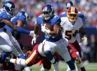 Giants RB Vereen (triceps) out for season