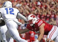 Wisconsin LB Biegel (foot) out at least 2 weeks