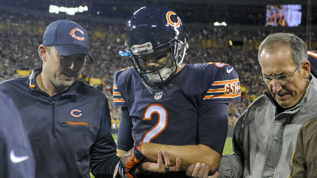 Bears lose another QB as Hoyer breaks arm