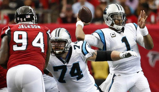 Panthers QB Newton, 3 others starters out vs