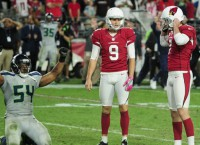 Missed FGs leave Cardinals, Seahawks with tie