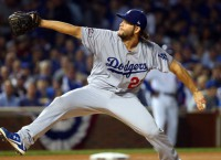 Kershaw's pitching gem pulls Dodgers even with Cubs