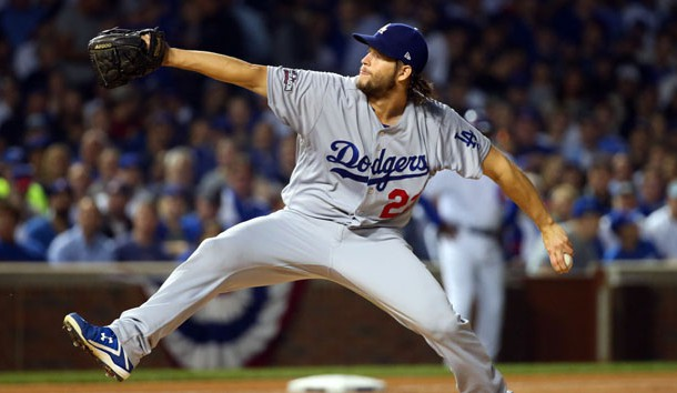 Dodgers, Kershaw tie up NLCS