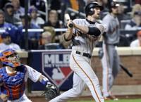 Bumgarner, Gillaspie's lift Giants past Mets