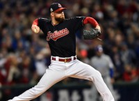 Kluber, Indians blank Cubs in World Series opener