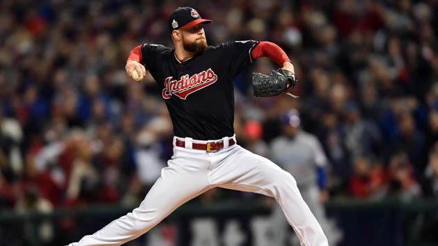 Kluber, Indians blank Cubs in World Series opener