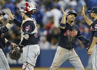 Indians blank Blue Jays to book trip to World Series
