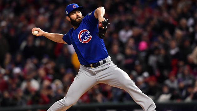 Arrieta, Cubs level World Series at 1-1