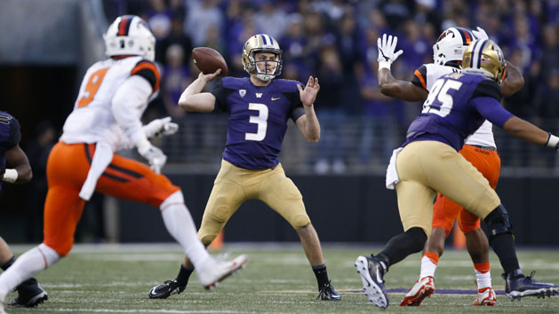 No. 4 Washington enters CFP discussion