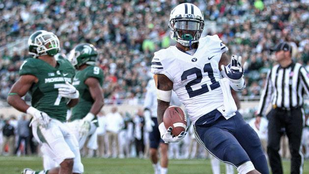 BYU hands reeling Michigan State third straight loss