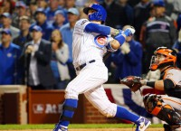 Baez homer gives Cubs Game 1 victory vs. Giants