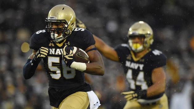 No. 24 Navy puts 13-game streak on line vs. Memphis