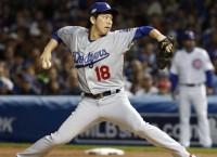 Dodgers push back Kershaw; Maeda to start Game 5