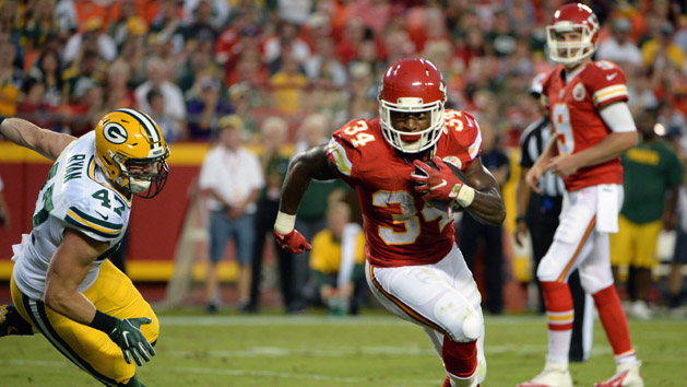 Packers acquire RB Knile Davis from Chiefs