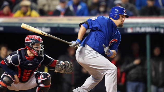 Cubs' Schwarber will not be in lineup for Game 3