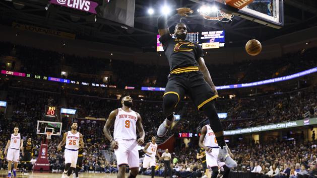 NBA Recaps: Cavs collect rings, dump Knicks