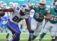 Bills RB McCoy sits with sore hamstring