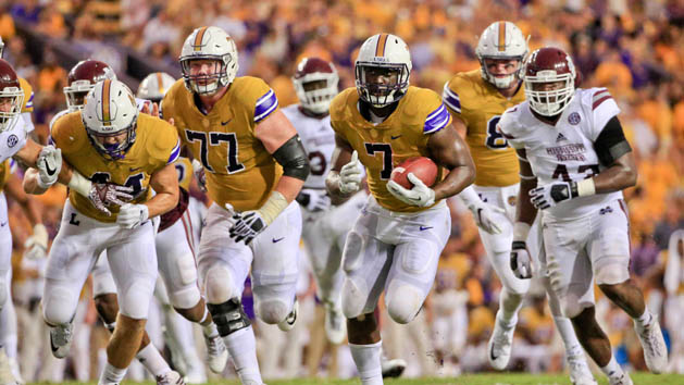 LSU RB Fournette expected back vs. Ole Miss