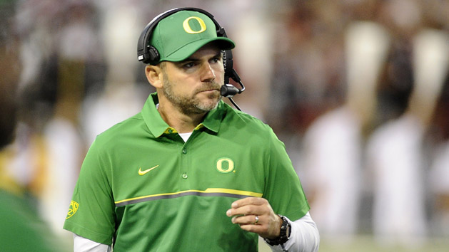 Oregon's Helfrich heads hot-seat coaches