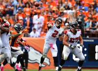 Falcons hand Broncos their first loss