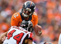 Broncos' Lynch endures rough outing in first start