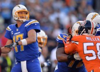 Rivers sets Chargers' passing mark in W vs. Broncos