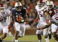 No. 21 Auburn crushes No. 17 Arkansas 56-3