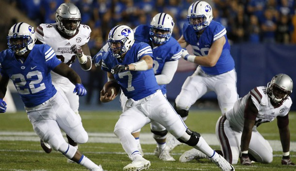 'BYU Cougars at Boise State Broncos