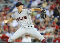 Bauer takes hill hoping to give Tribe a 2-0 Series lead