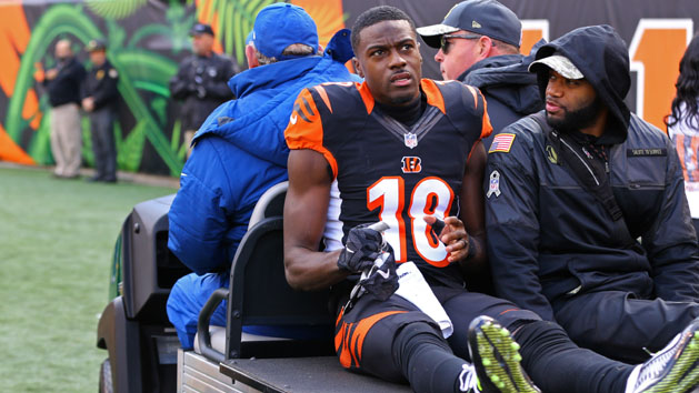 Bengals WR Green could be dealing with hamstring tear