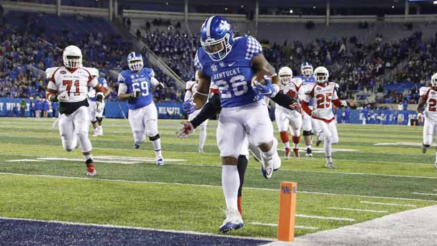 Kentucky's Snell: 'I'm the best RB in SEC'