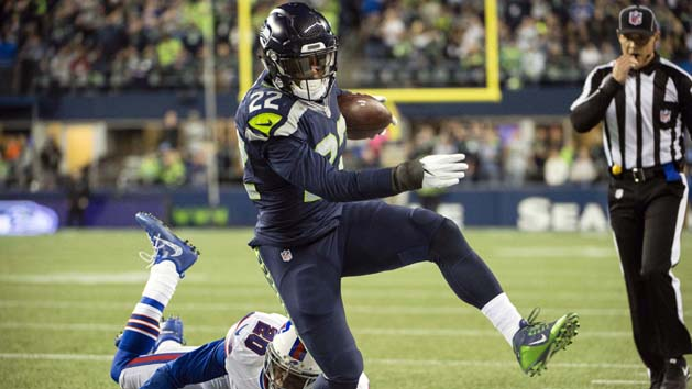 Prosise's injury hampers Seahawks' ground attack