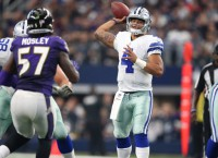 NFL Recaps: Cowboys beat Ravens for 9th straight W