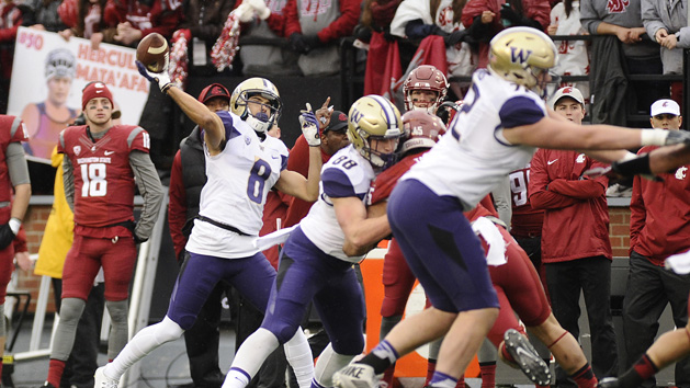 Top 25 Recaps: No. 5 Washington blows out Wazzou