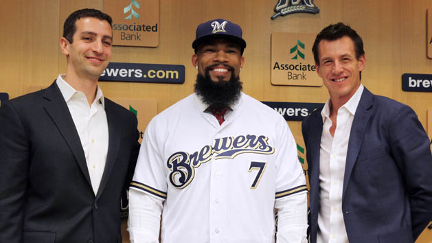 Brewers bring on Thames to replace Carter