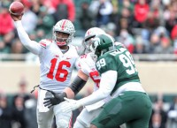 Lot on line in Ohio State-Michigan clash