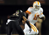 No. 24 Tennessee can dim Vandy's bowl  hopes