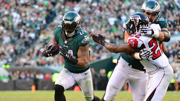 Eagles RB Mathews ruled out vs. Packers
