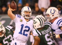 Luck, Allen propel Colts in rout of Jets