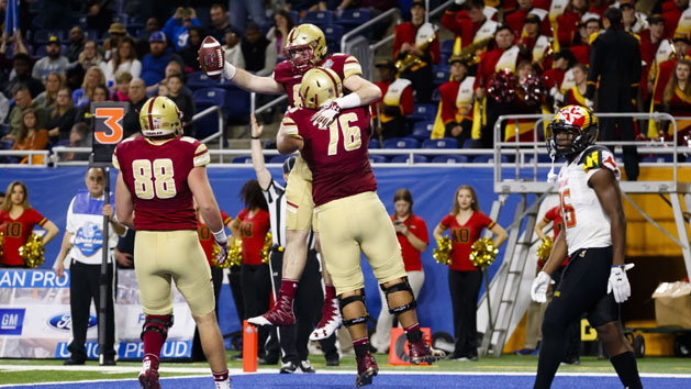 BC holds off Maryland in Quick Lane Bowl