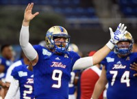 Tulsa routs Central Michigan in Miami Beach Bowl