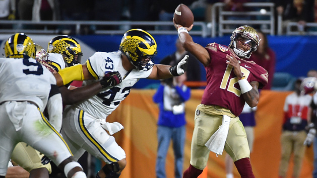 FSU wins thriller vs. Michigan at Orange Bowl