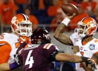 Round II: Watson, Clemson back for more