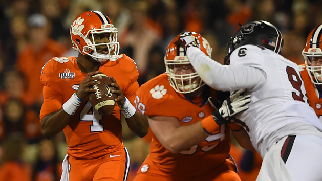 Jackson, Watson split top college football awards