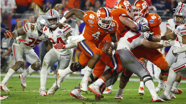 Clemson shuts out Ohio State, to meet Bama again