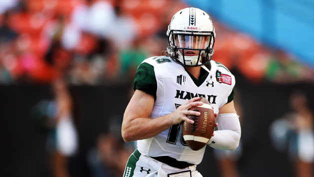 Hawaii's O rides wave in Hawaii Bowl win over MTSU