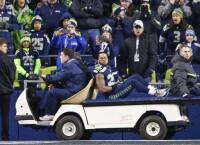 All-Pro Thomas injured in Seattle's rout of Carolina