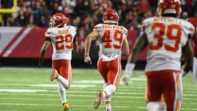 Chiefs' Berry excels on field, remains classy off it