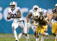 Williams powers BYU to Poinsettia Bowl win