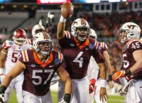 Evans leads Hokies comeback in Belk Bowl
